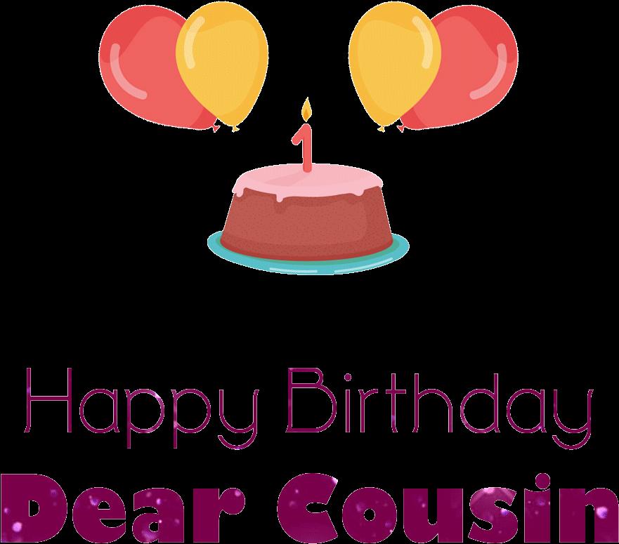 Brilliant Graphic Freeuse Download Happy Birthday Cousin Clipart Cousin Funny Birthday Cards Online Aboleapandamsfinfo