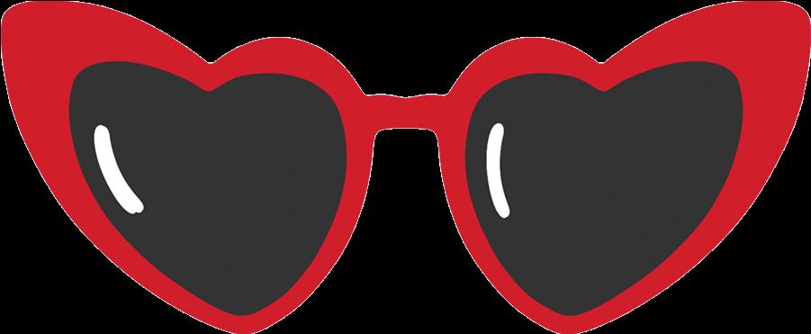 Heart Clipart Sunglasses - Sunglasses - Png Download ...