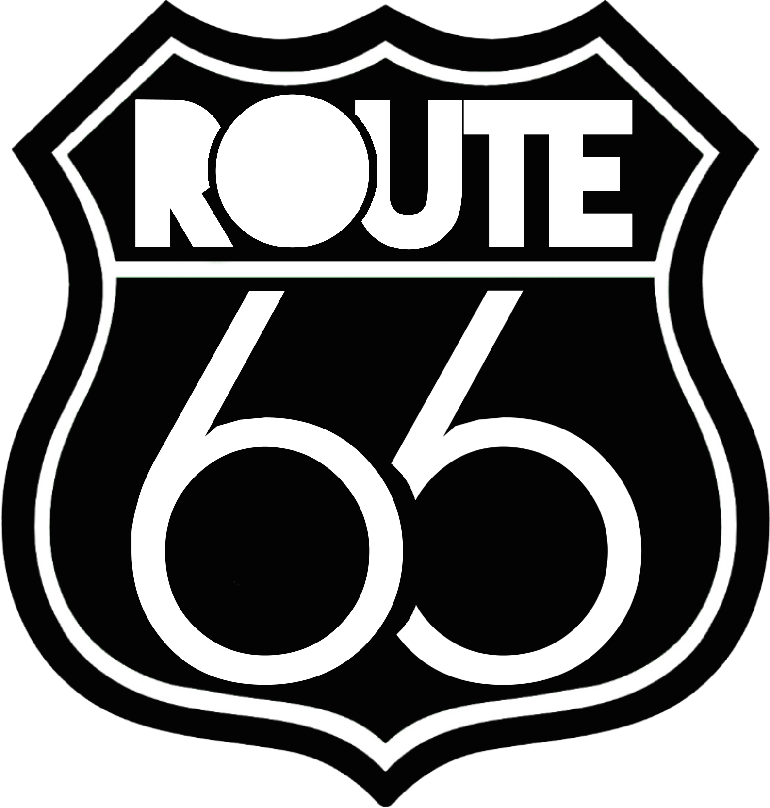 Route - Route 66 Icon Clipart - Full Size Clipart (#2142367) - PinClipart