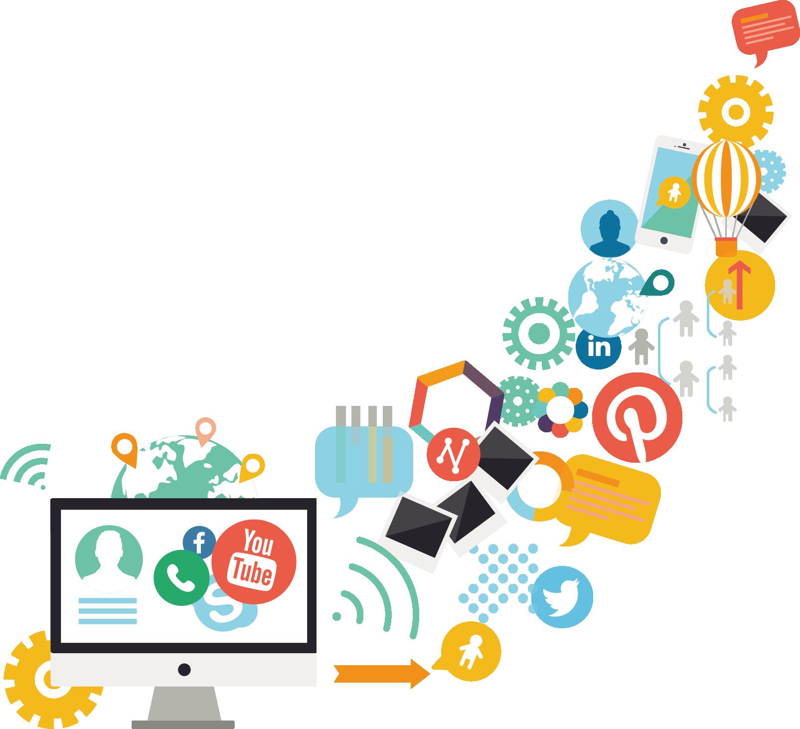 Kisspng Social Media Marketing Digital Marketing Content ...