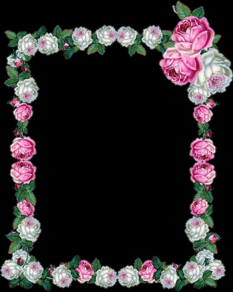 free digital vintage rose frame png clipart full size clipart 2172808 pinclipart free digital vintage rose frame png