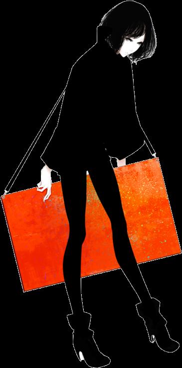 Venerdi 17 Gennaio オシャレ 女の子 イラスト ファッション Clipart Full Size Clipart Pinclipart