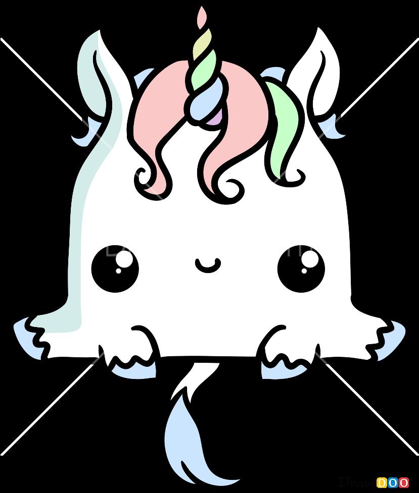 Unicornio Kawaii Para Colorear Clipart Full Size Clipart