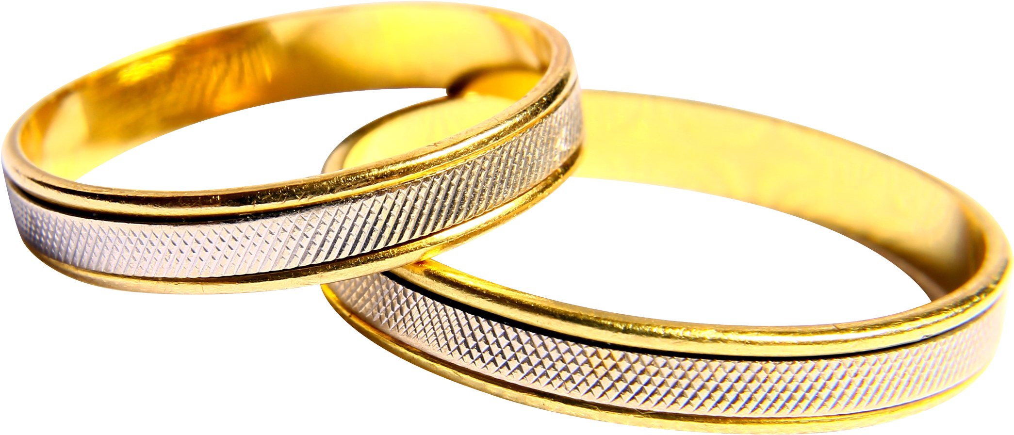 Gold Embroidered Wedding Transparent Wedding Ring Png