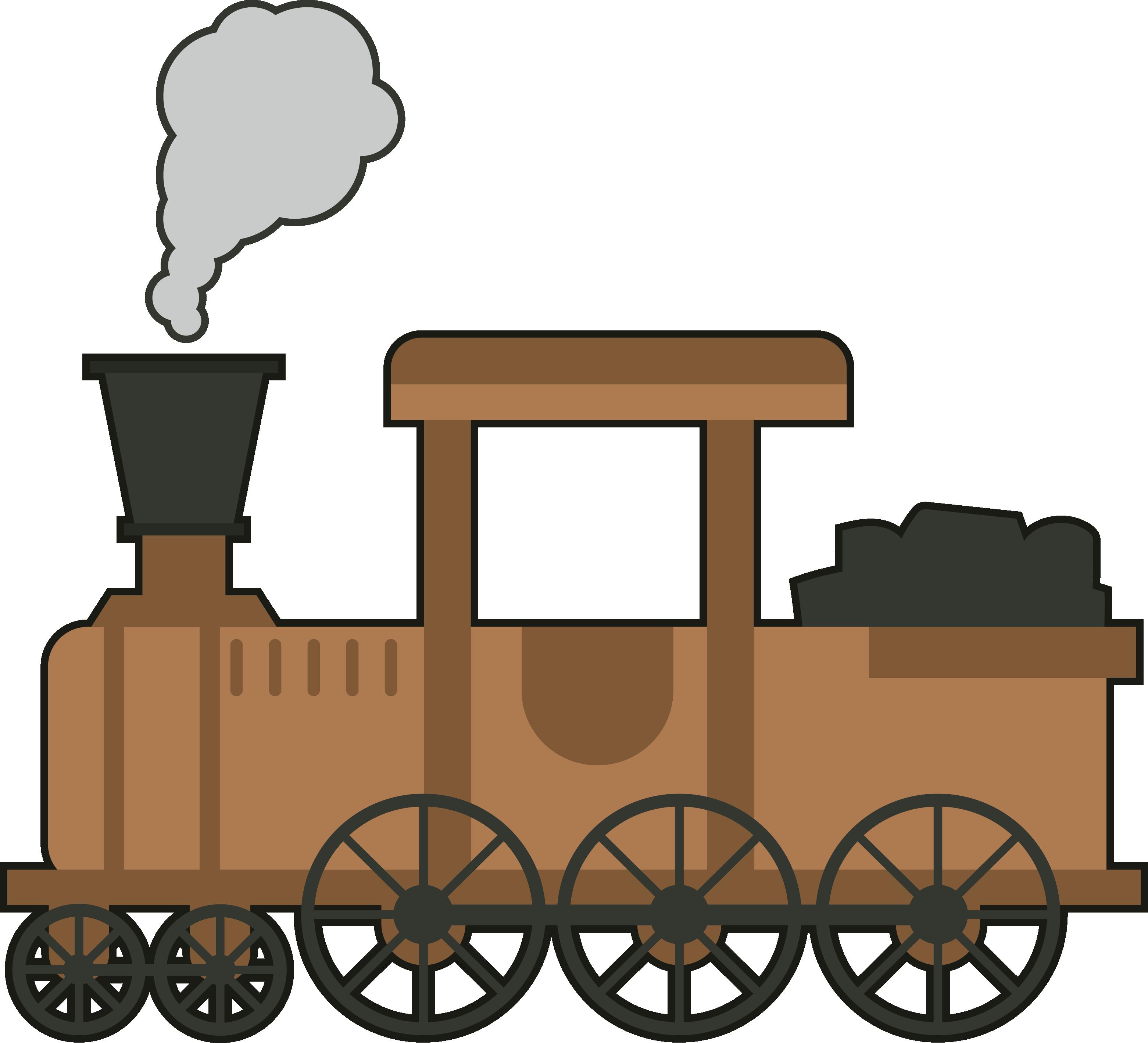 Gambar Kereta Kartun Png Train Rail Png Pic Gambar Kereta Api Kartun Png Clipart Full