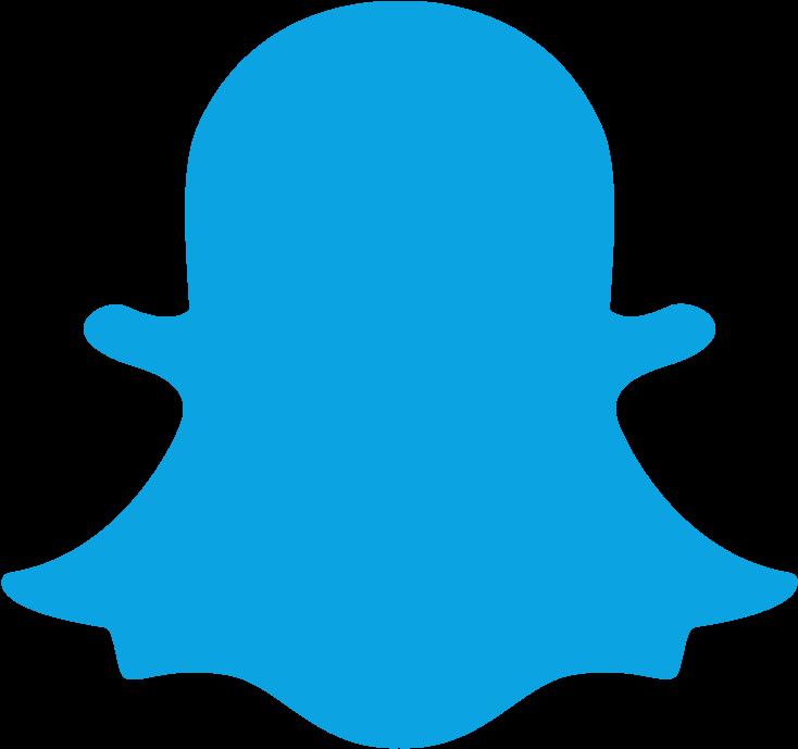 Snapchat Blue Logo Png Clipart - Snapchat Icon Png ...
