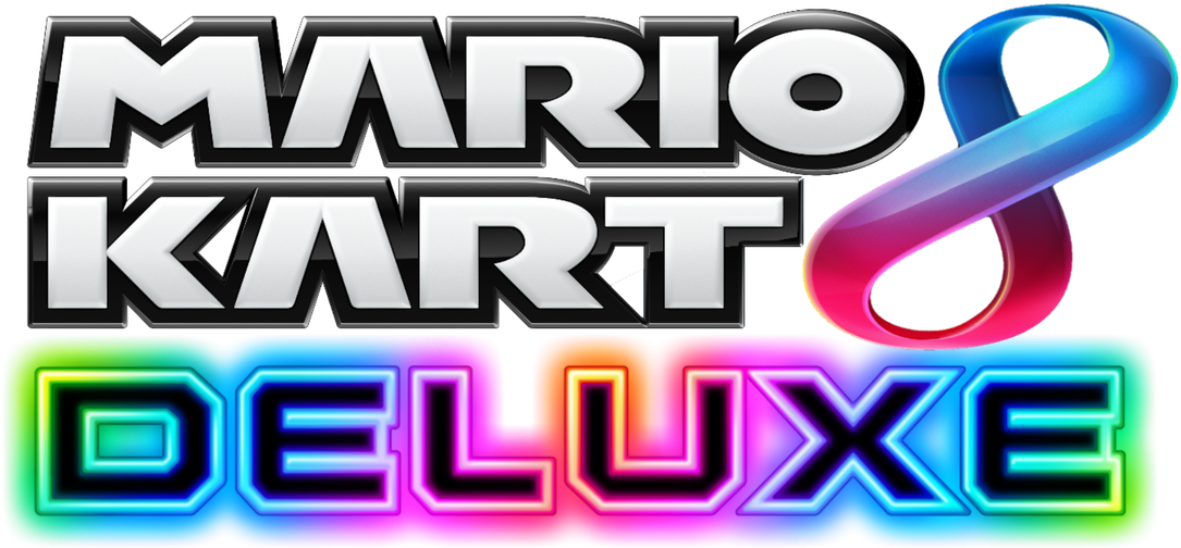 Mario Kart 8 Deluxe Logo Png Clipart Full Size Clipart 2273022