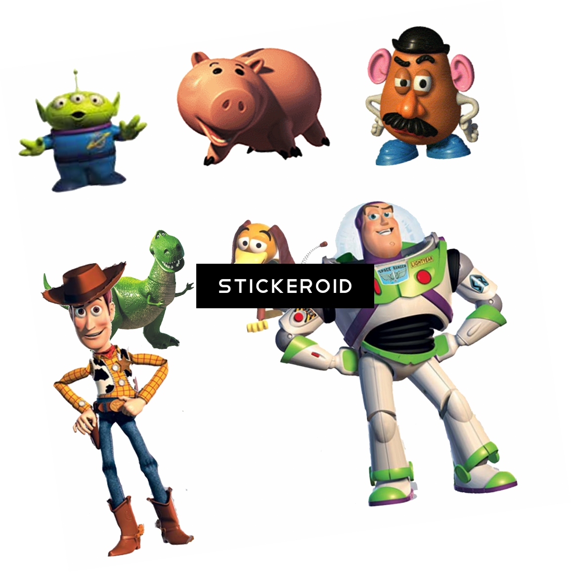 Toy Story Characters Disney Clipart Full Size Clipart 2298453 Pinclipart