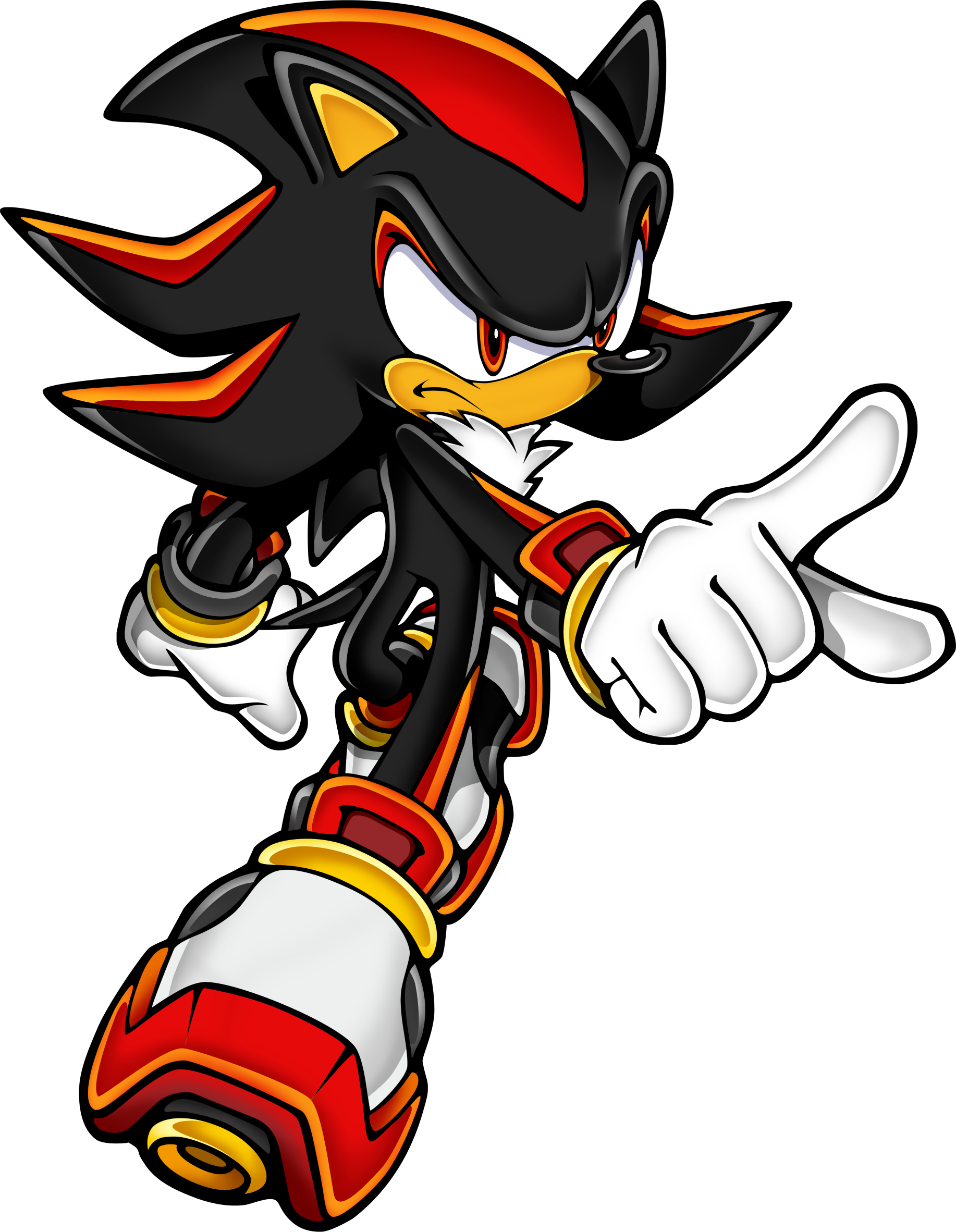 Sonic The Hedgehog Clipart Clip Art Sonic The Hedgehog Black Png Download Full Size Clipart 231068 Pinclipart