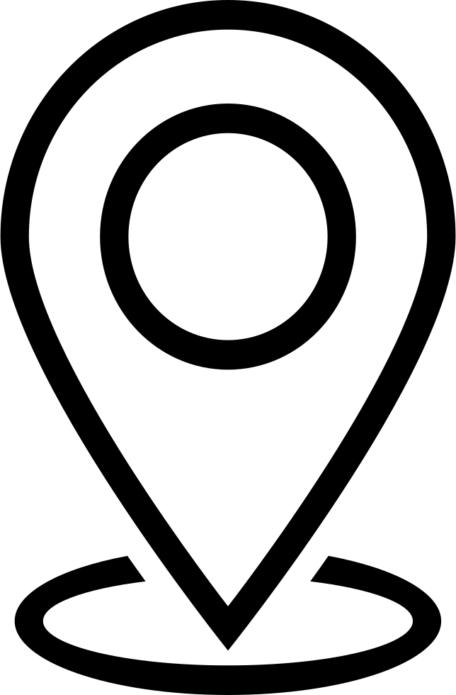 Location Svg Png Icon Free Download 392730 Black And ...