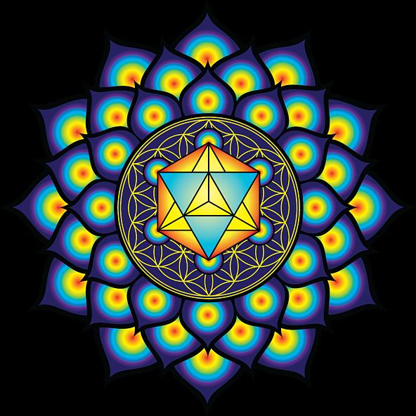 Flower Of Life, Sacred Geometry, Geometric Art, Mandala ...