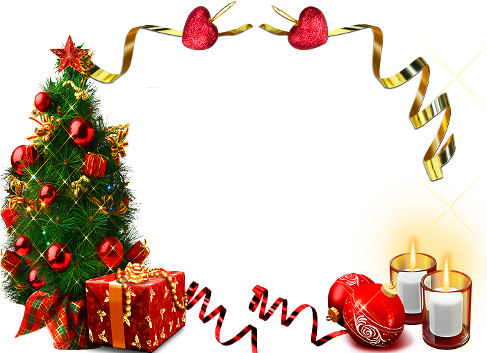 Tube Cadre De Noel Page Clipart Full Size Clipart 2554446 Pinclipart