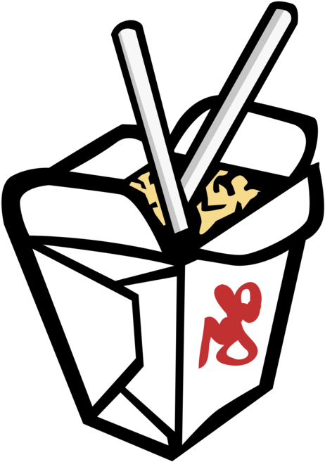 Chinese Cuisine Take-out Eating Drawing Food - Take Out ... (462 x 657 Pixel)