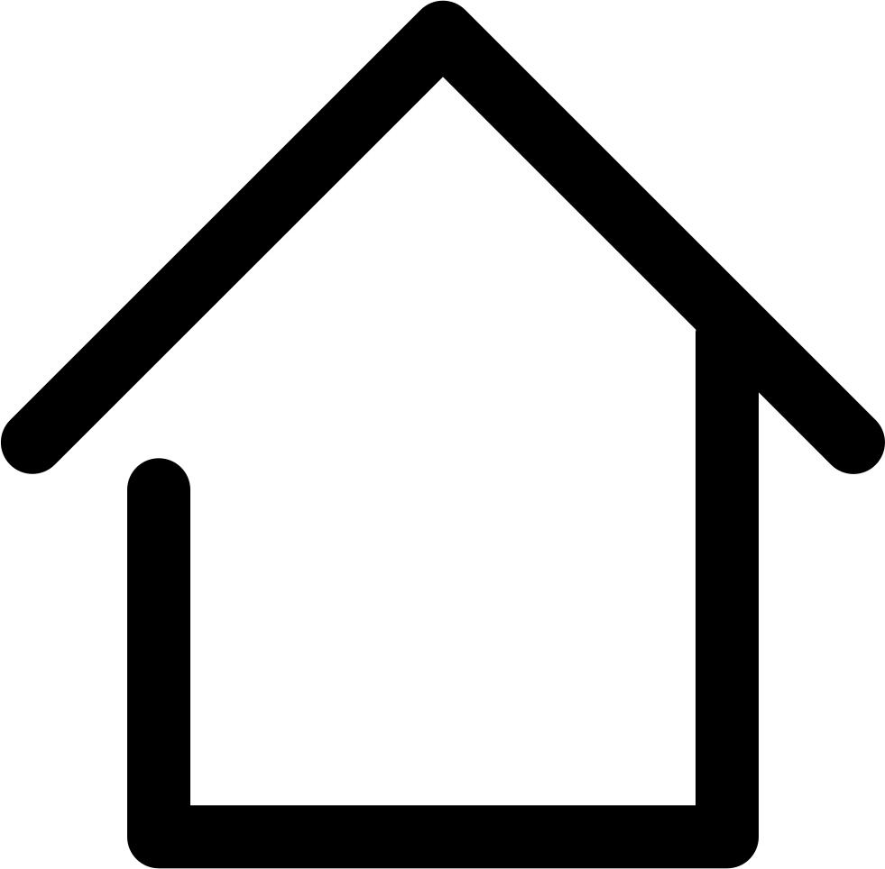 Real Estate Clipart Png File Clip Art Freeuse Home Line Icon Png Transparent Png Full Size Clipart 265145 Pinclipart