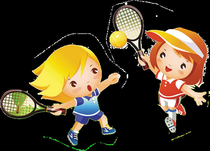 Большой теннис картинки для детей, бабье лето