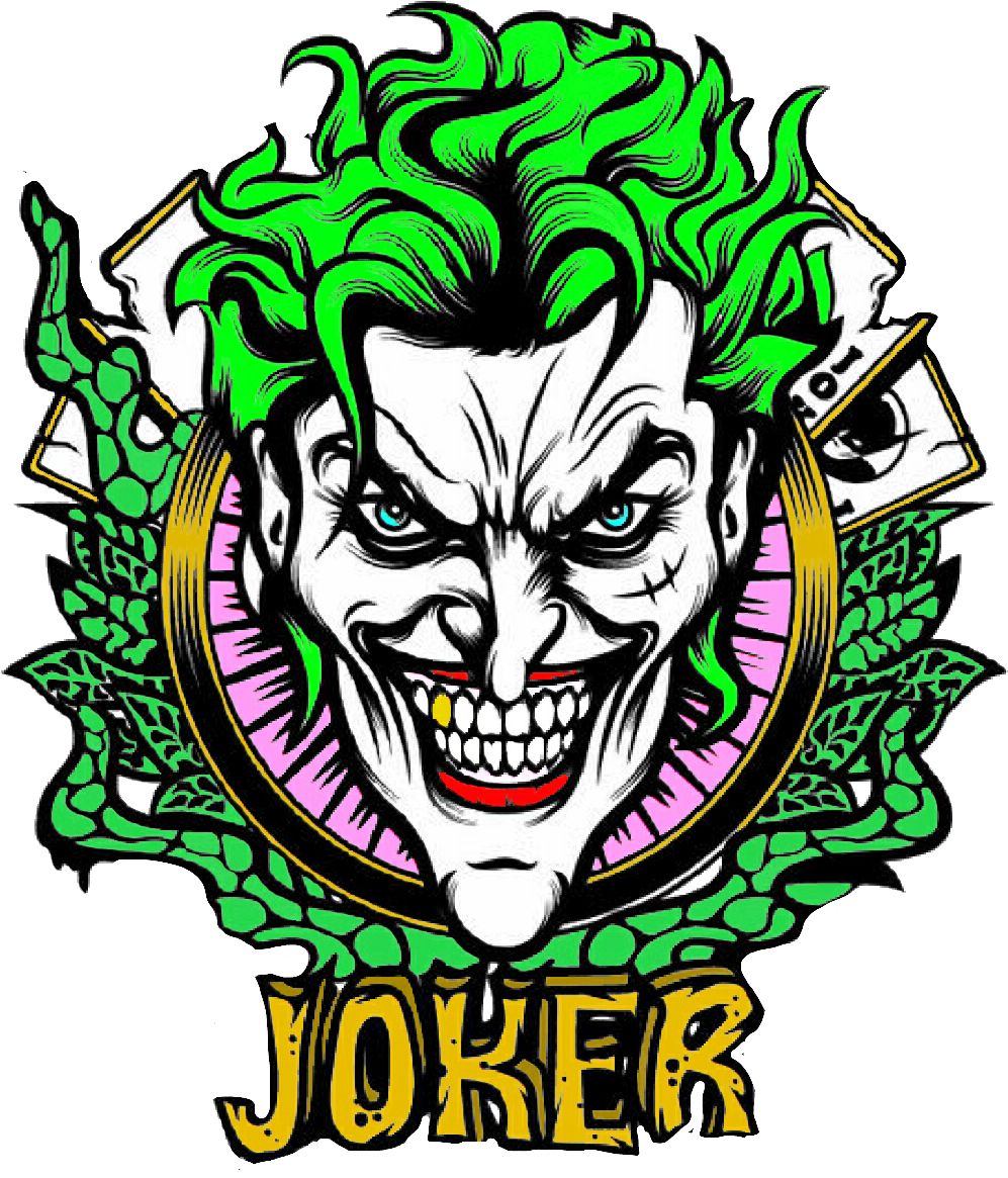 Joker Sticker Clipart Full Size Clipart 2665511 Pinclipart