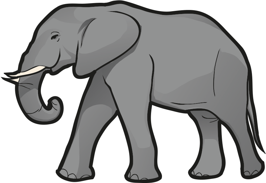 Elephant Clipart - Full Size Clipart (#2697727) - PinClipart