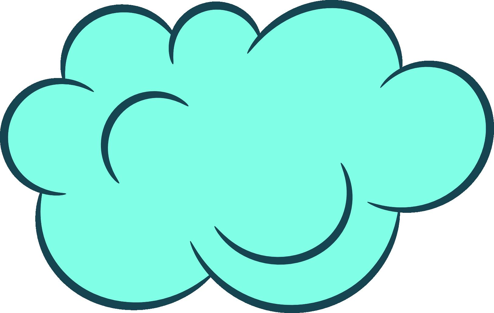 Картинка облака на прозрачном фоне, смешные