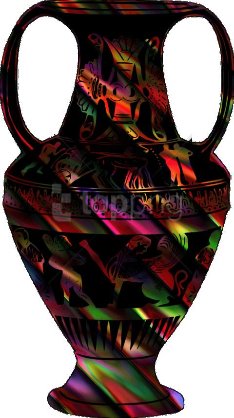 Vase Drawing Ceramic Glass Painting Desenho De Vaso Colorido