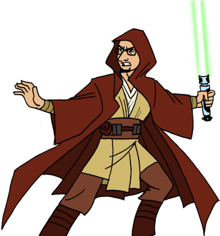 Star Wars Clipart Jedi Knight - Png Download - Full Size ...