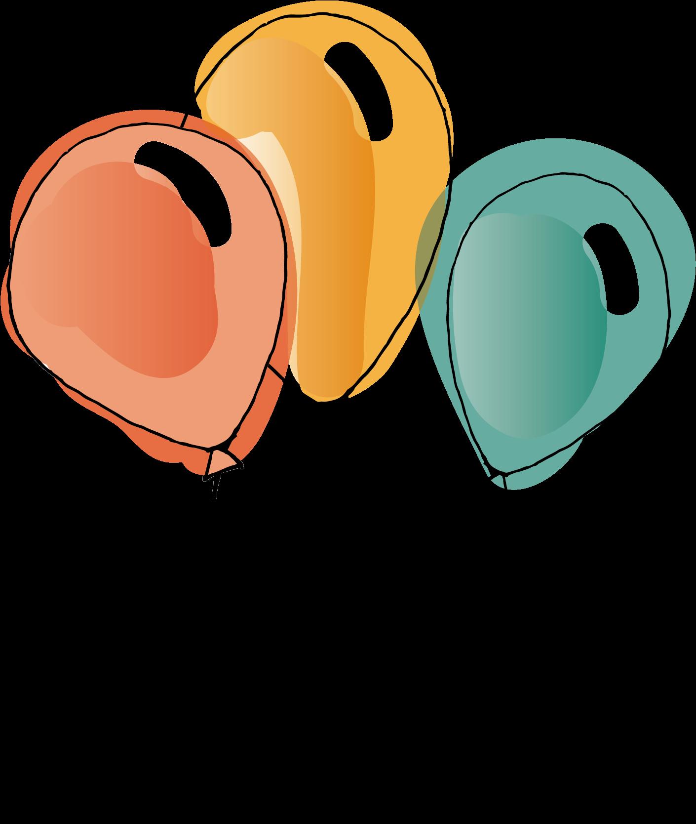 Нарисованные картинки воздушных шариков