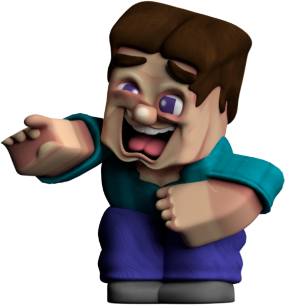 Minecraft Steve Laughing Clipart Full Size Clipart 2864823 Pinclipart