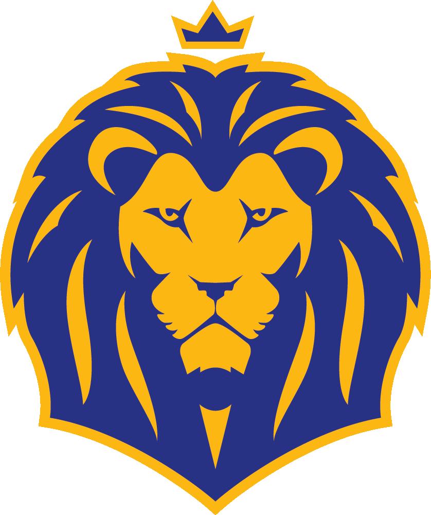 придумать праздничные логотип картинка лев данном