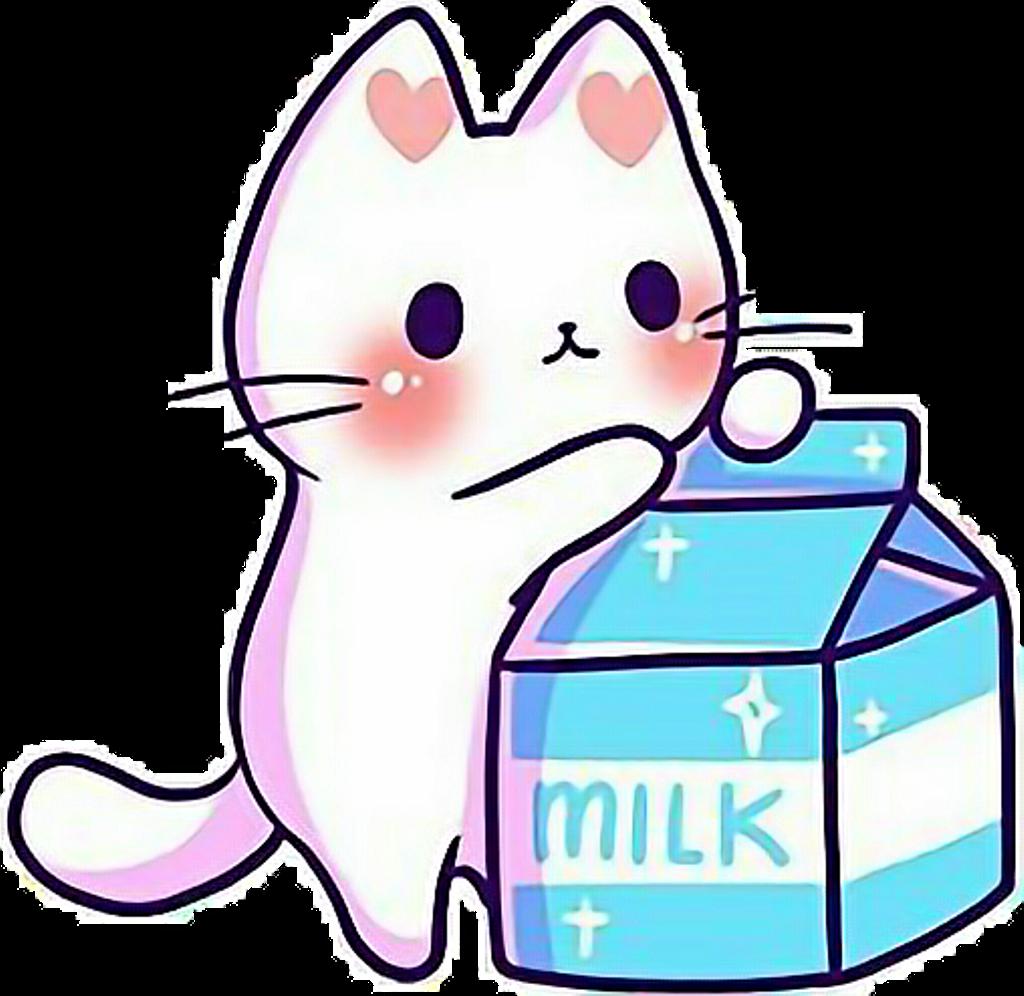 Kawaii Cute Cat Kitten Kitten Kittens Cats Catlove Clipart Full Size Clipart 2907464 Pinclipart