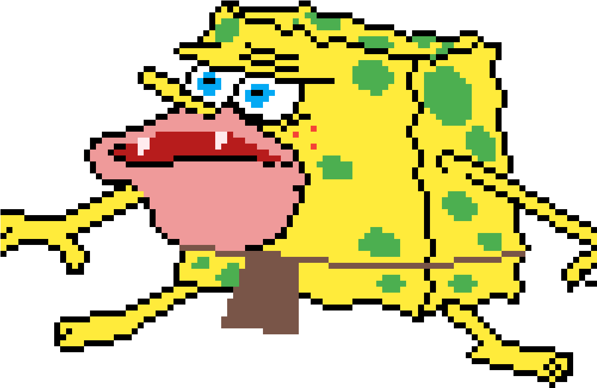 Spongebob Caveman Meme Clipart - Full Size Clipart ...