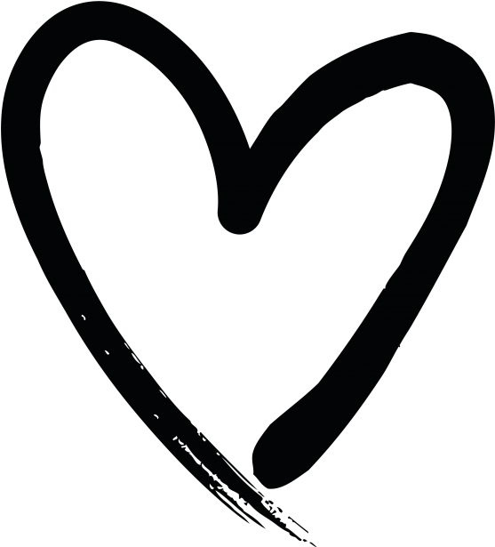 Hand Drawn Heart Clipart - Full Size Clipart (#2951650 ...