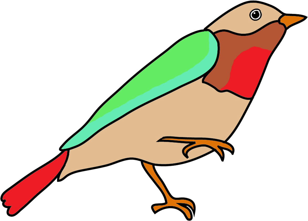 Colorful Birds Clip Art Free Download