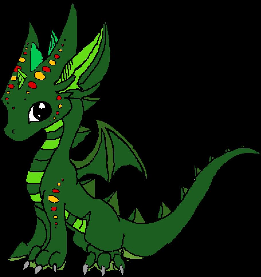 A Cute Dragon Clipart Full Size Clipart 2974241 Pinclipart