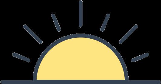 Sunrise Clip Art - Png Download (#1383462) - PinClipart