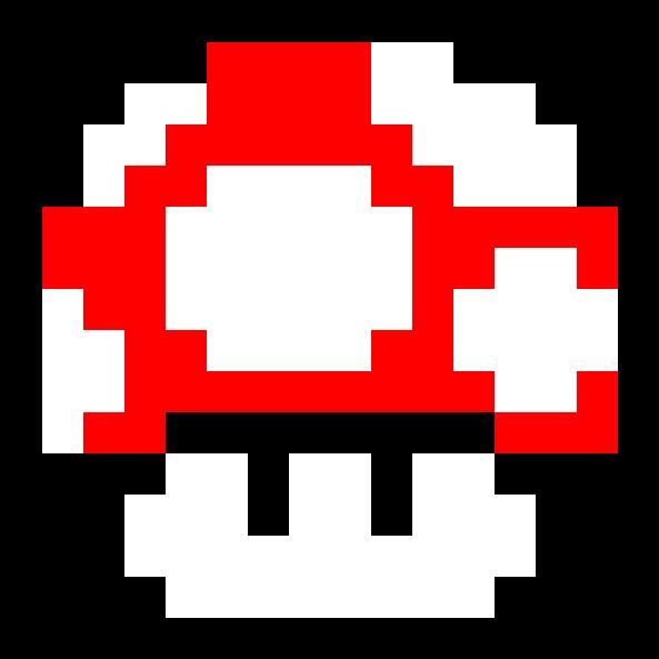 Super Mario Bros Red Mushroom Clipart Full Size Clipart