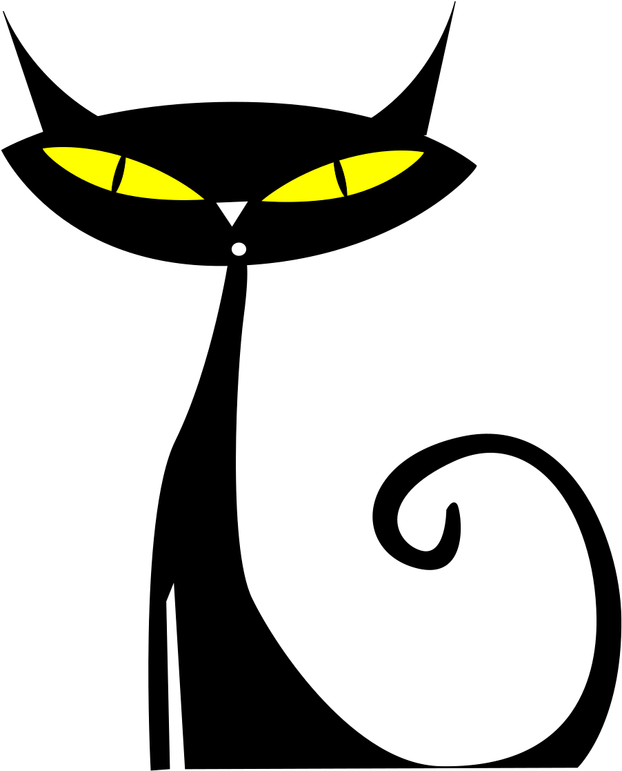 Gato Medium Image Png - Black Cat Clip Art Png Transparent ...