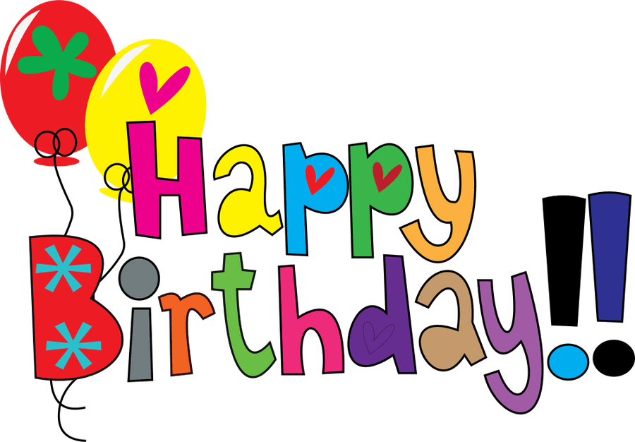 Happy Birthday Clip Art 72 Cliparts 16 October Happy Birthday Png Download Full Size Clipart 38178 Pinclipart