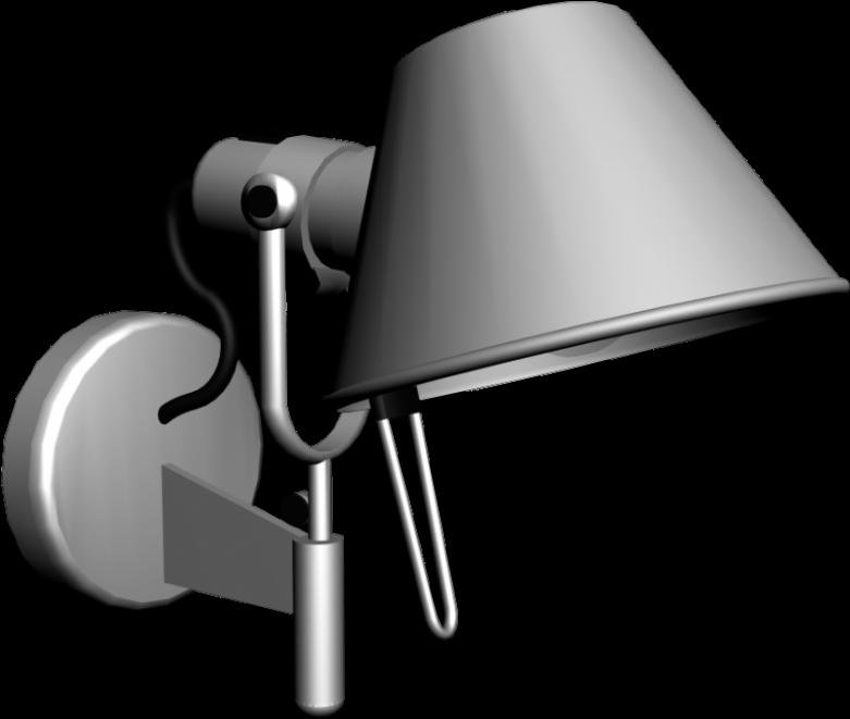 Artemide Tolomeo Micro Bedside Table Lamps Artemide Clipart Full Size Clipart 3010282 Pinclipart
