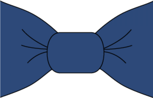 Bow Tie Clipart Dark Blue - Png Download - Full Size ...