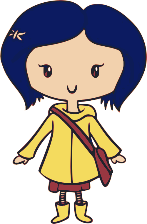 Coraline Clipart Full Size Clipart 3135951 Pinclipart
