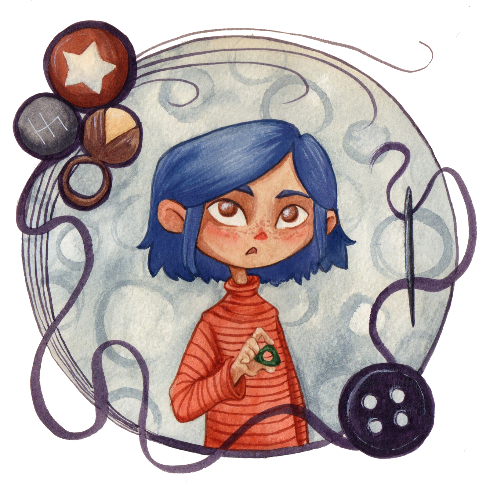 Coraline Clipart Png Download Full Size Clipart 3135971 Pinclipart