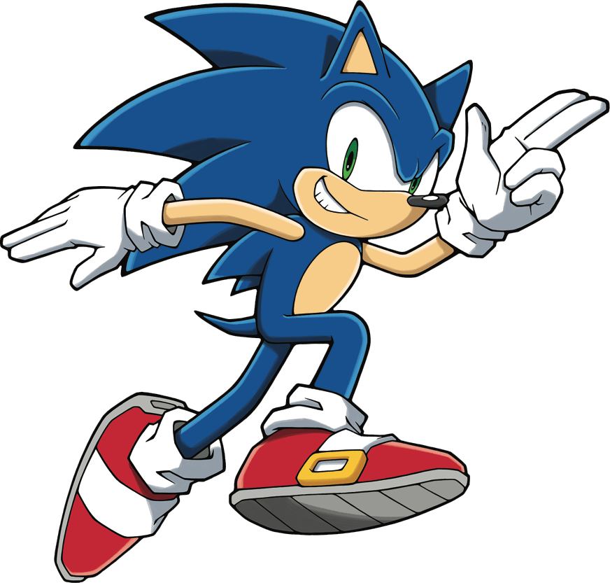 Sonic The Hedgehog Cartoon Clipart Full Size Clipart 3191904 Pinclipart