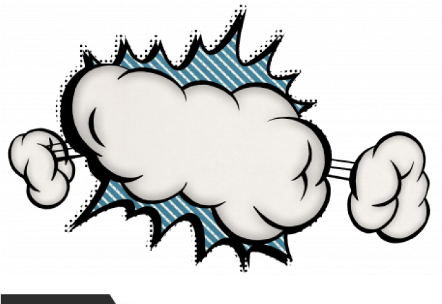 Download Smoke Clipart Blast - Cartoon - Png Download ...