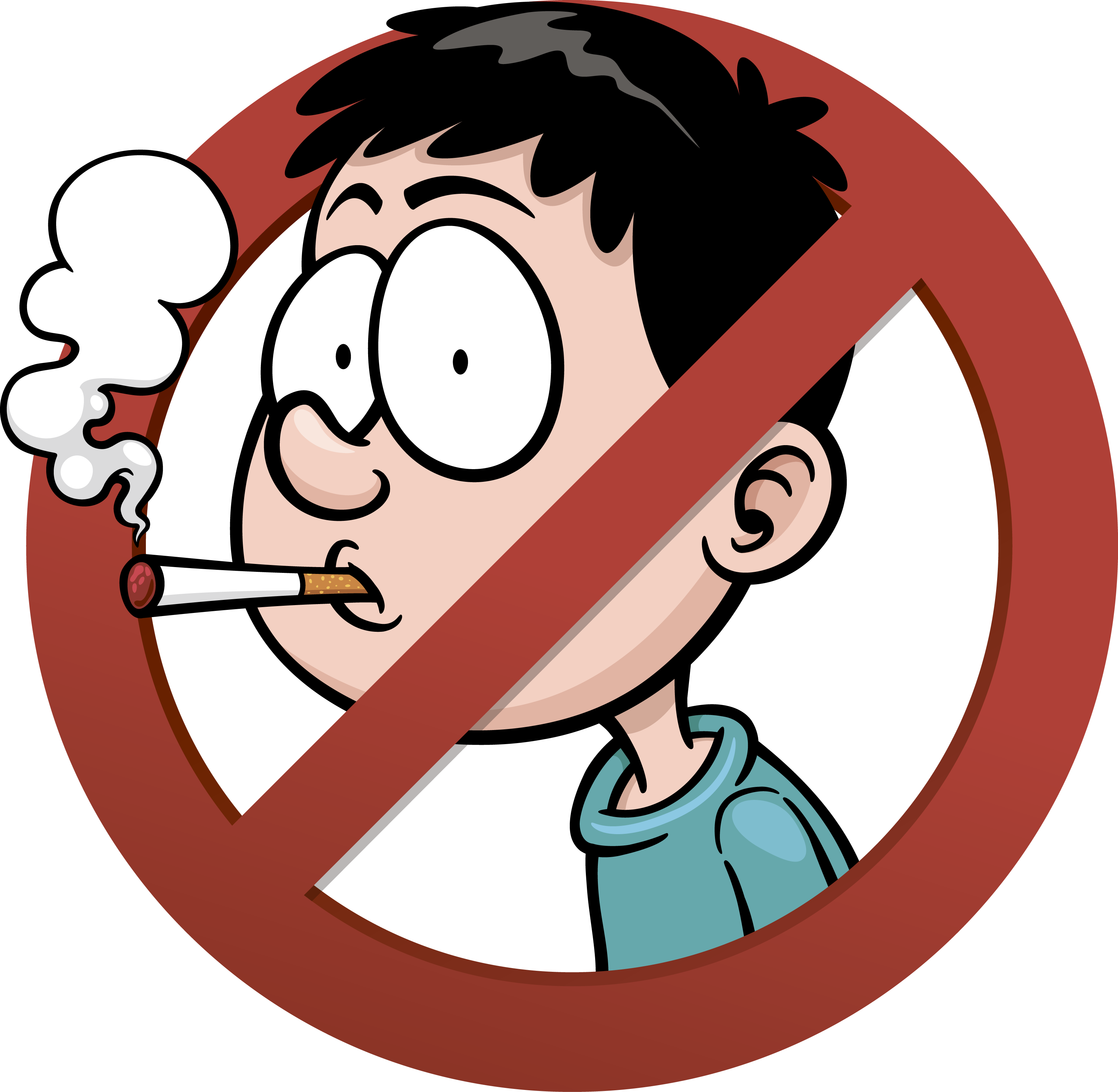 Clipart Mouth Chewing Gum - Clip Art No Smoking - Png ...