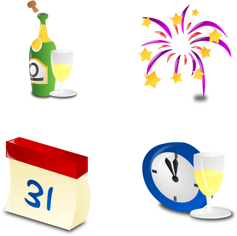 New Year Free New Years Eve Partys Download Clip Art Feu D Artifice Dessin Png Download Full Size Clipart 321136 Pinclipart