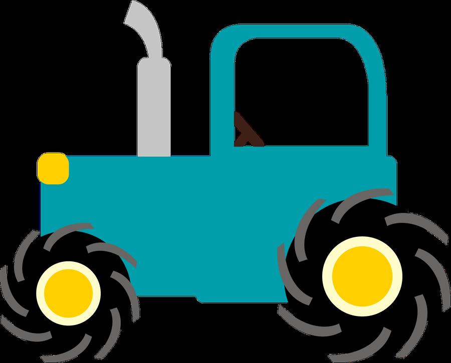 Tractor Trator Fazendinha Desenho Png Clipart Full Size