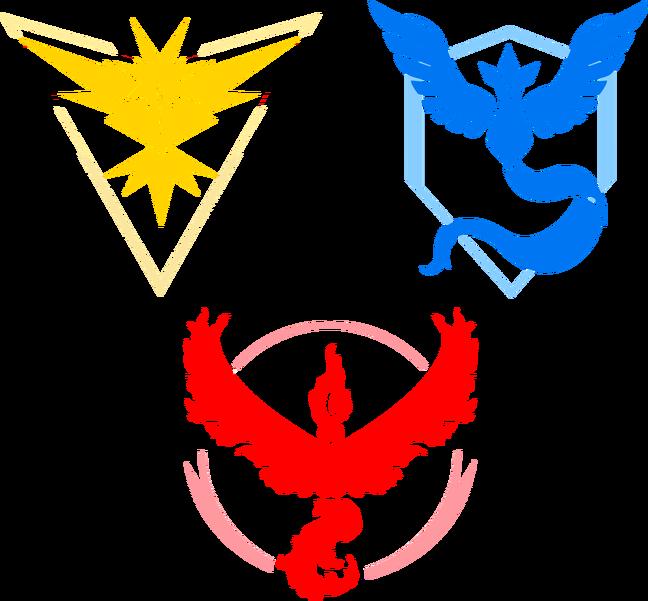 648 X 601 10 - Pokemon Go Valor Logo Clipart - Full Size ...