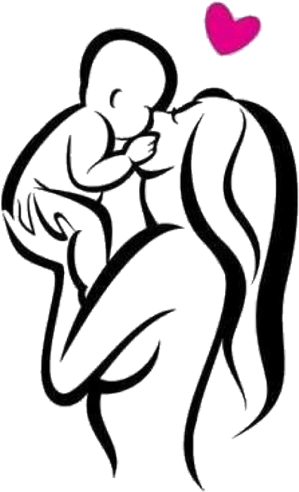 Mom Tattoo Transparent: Mother Baby Tattoo Designs Clipart