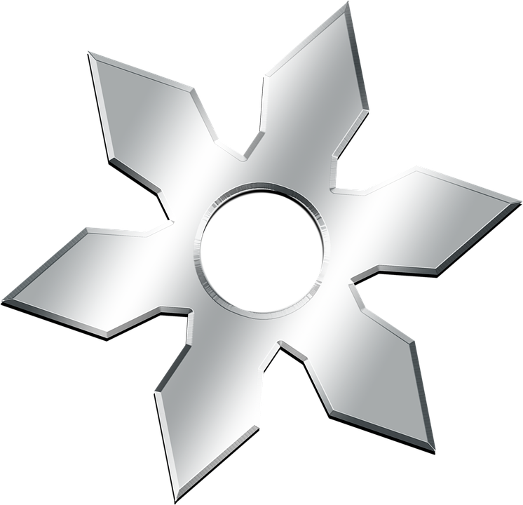 Download Ninja Star Png Clipart (#3293373) - PinClipart