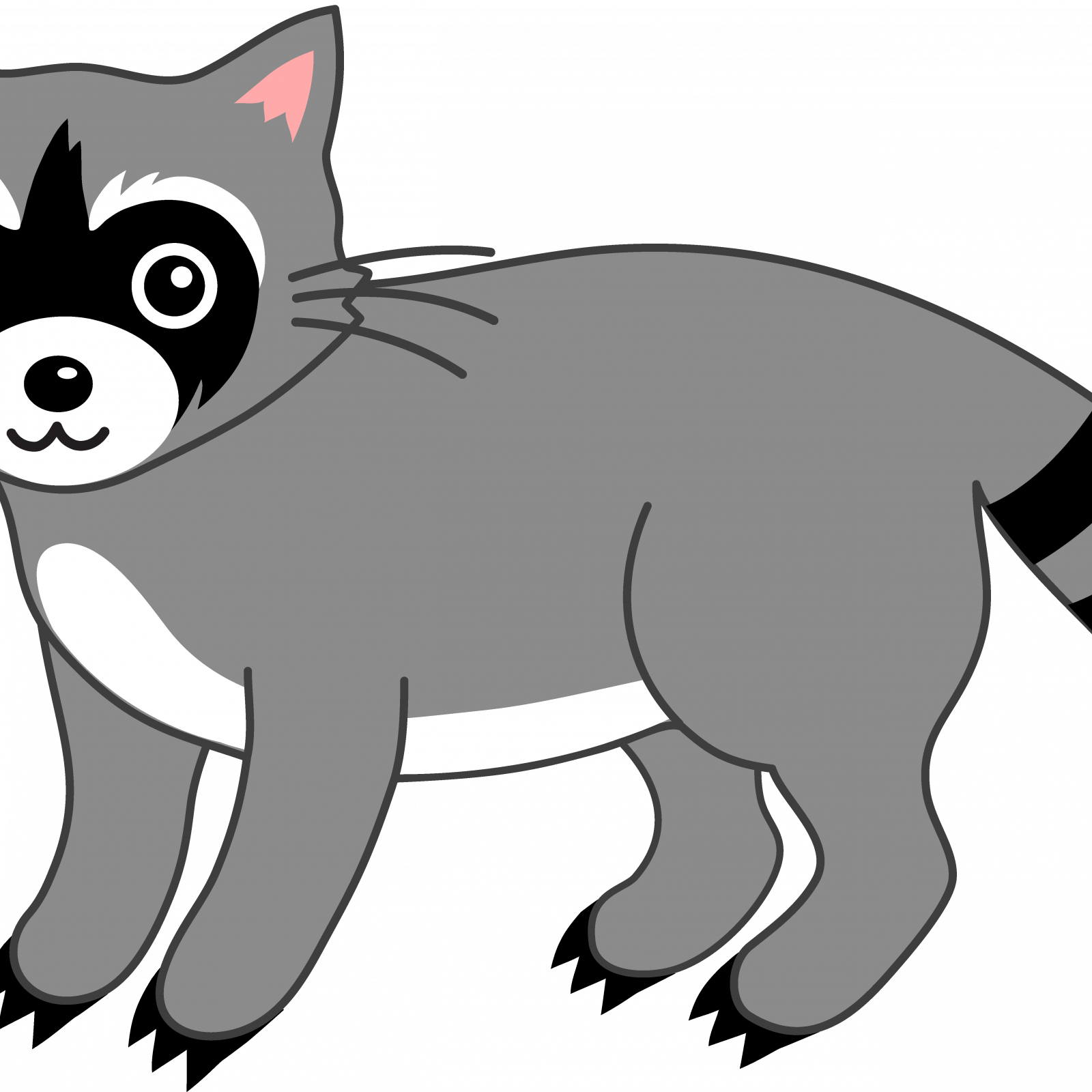 Chester Raccoon Coloring Page Chester Raccoon Coloring ...