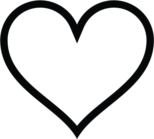 Heart-shaped Clipart Instagram - Heart Sign Icon ...